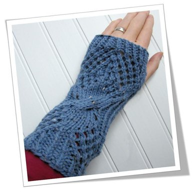 Salty fingerless mitts