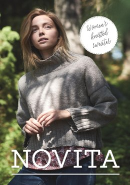 Women's Knitted Sweater in Novita Nordic Wool - 4 - Downloadable PDF