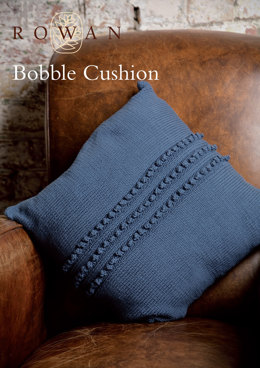 Bobble Cushion in Rowan Handknit Cotton