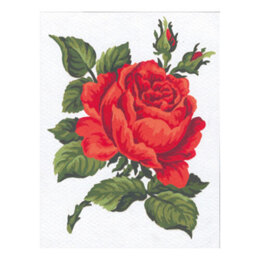 Collection D'Art Red Rose Tapestry Kit