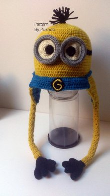 Kevin the Minion Hat - Perfect Gift Crochet pattern by Patricia ... d038ddd96bef
