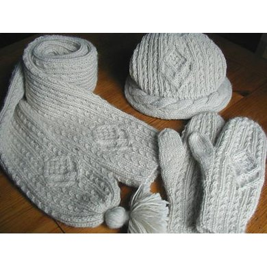 Aran Winter Set - Hat