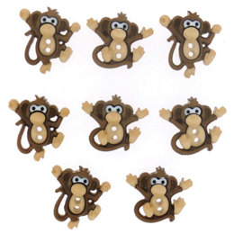 Dress It Up Sew Cute Monkeys