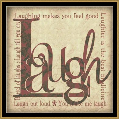 LAUGH AND OTHER SENTIMENTS