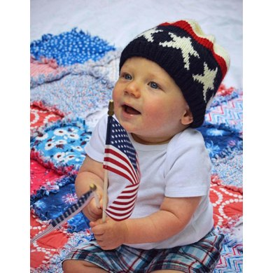Three Cheers! A Flag Hat