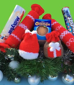 Christmas Smartie Tube cracker and gift bags
