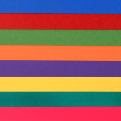 """LoveCrafts Rainbow Collection Classic Cardstock 80lb 12"""" x 12"""" 16 Pack"""