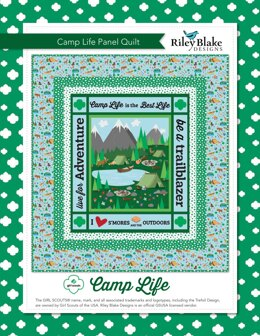 Riley Blake Camp Life Panel Quilt - Downloadable PDF
