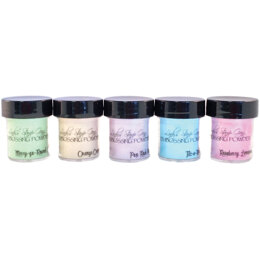 Lindy's Stamp Gang 2-Tone Embossing Powders .5oz 5/Pkg - Under The Boardwalk