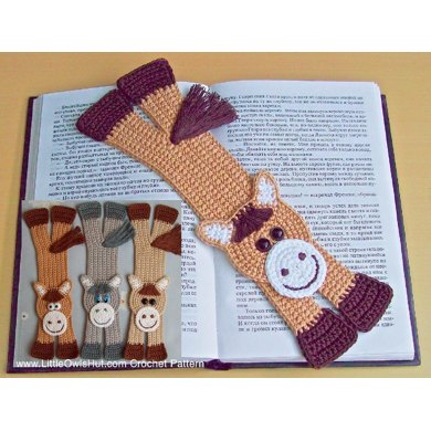 031 Happy Horse bookmark