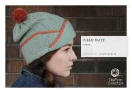 """""""Field Mate Toque by Kiyomi Burgin"""" - Top Knitting Pattern in The Yarn Collective"""