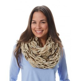 Arm Knit Cowl in Patons Decor