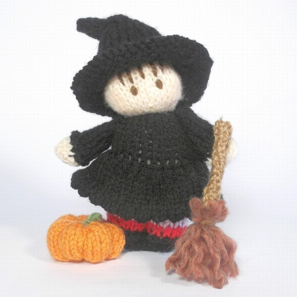 Witch Bitsy Baby Knitting pattern by Claire Fairall