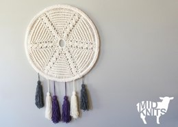 Cable Star and Tassels Wall Hanging (2015023)