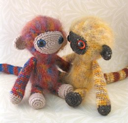 Woolly Monkey Amigurumi