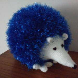 Christmas Hedgehog Knitting Pattern : Hedgehogs in King Cole Tinsel Chunky and King Cole ...