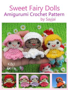 Sweet Fairy Dolls Amigurumi Crochet Pattern