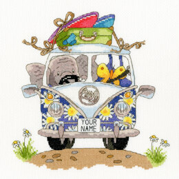 Bothy Threads Elly Pack Your Trunk Cross Stitch Kit
