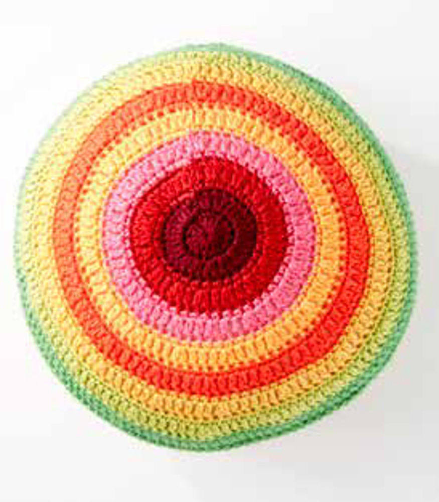 Knitting Color Wheel : Color wheel pillow in caron simply soft and