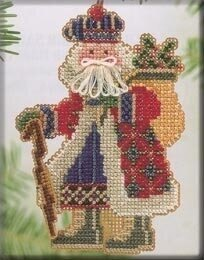 Mill Hill Mt. McKinley Santa Cross Stitch Kit