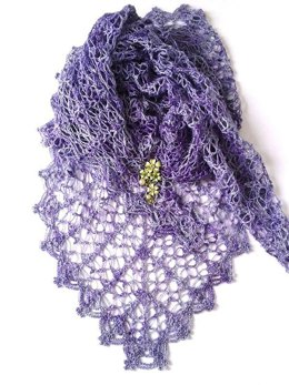 Lavender Path Shawl