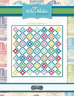 Riley Blake Vintage Crayola - Downloadable PDF