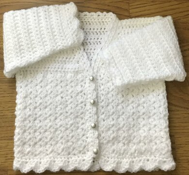 'Paris' Crochet Cardigan Pattern for Baby or Child