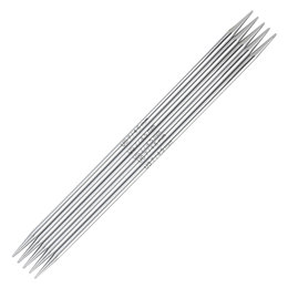 "Knitter's Pride Nova Platina 8"" Double Pointed Needle (set of 5)"