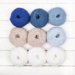 MillaMia Naturally Soft Merino Jane Crowfoot 9 Ball Colour Pack - Willow Blossom