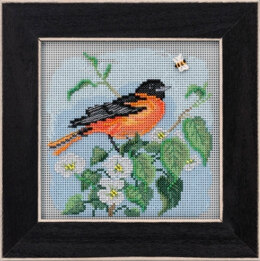 Mill Hill Spring Series 2020 - Baltimore Oriole - 5.25in x 5.25in