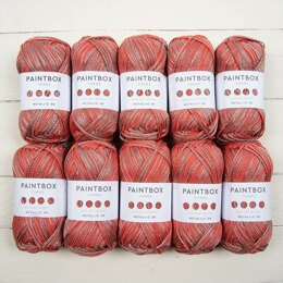 Paintbox Yarns Metallic DK 10 Ball Value Pack
