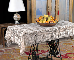 Table Cloth in Adriafil Doppio Ritorto 12/3=8 - Downloadable PDF