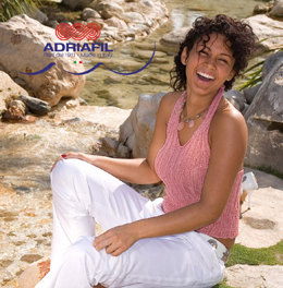 Seychelles Top in Adriafil Cheope