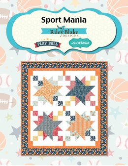 Riley Blake Sport Mania - Downloadable PDF