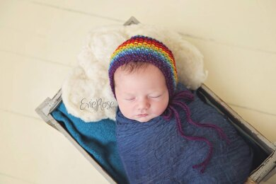 Rainbow Seed Bonnet