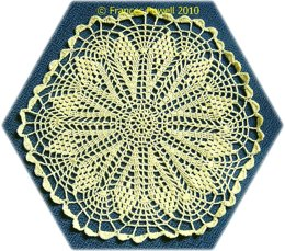 Hexagonal doily
