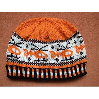 Rescue helicopter beanie