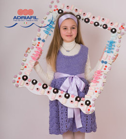 Moena Dress in Adriafil Candy - Downloadable PDF