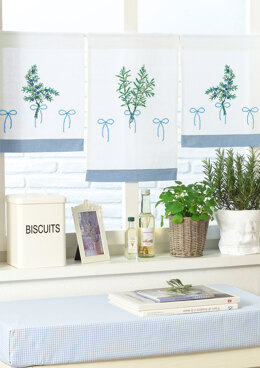 Anchor Aromatic Plants - Café Curtains - 0060044-00901_02 -  Downloadable PDF