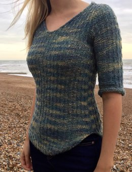 Pebble V-neck Top