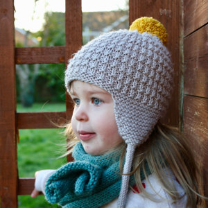 Cullen Earflap Hat Knitting pattern by Julie Taylor d3b6755fb73