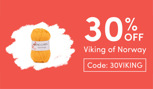 30 percent off Viking of Norway. Today only! Code: 30VIKING
