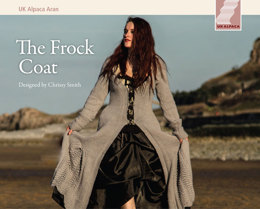 Frock Coat in UK Alpaca Baby Alpaca Merino Aran - Downloadable PDF
