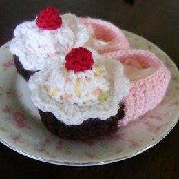 Lil' Cupcake Baby Shoes