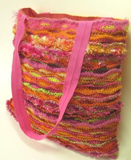 Ripple Stitch Cushion or Bag 007