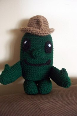 Cuddly Cactus Toy Doll, a Wild West crochet pattern