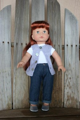 "18"" Doll Tunic Top or Sweater"