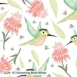 Visage Textiles Hummingbirds Cut to Length - Multi