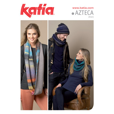 Cowls, Scarves and Hats in Katia Azteca - 7
