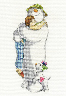 DMC The Snowman - Group Hug Cross Stitch Kit - Multi